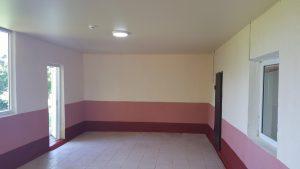 После ремонта обеденного зала