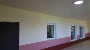 После ремонта обеденного зала 1
